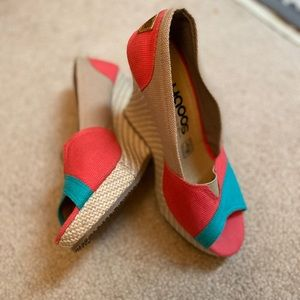 Yaoos Mexican wedges new 6 size